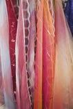 Camadas de tela.   Fotografia de Stock