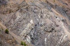 Camadas Geological da rocha Fotos de Stock Royalty Free