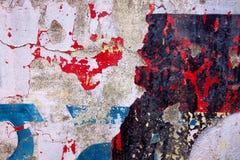 Camadas lascadas de pintura Imagem de Stock