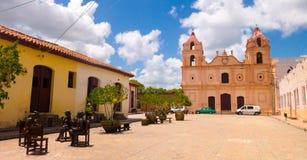 CAMAGÜEY, CUBA - 4 DE SEPTIEMBRE DE 2015: Estatuas Foto de archivo