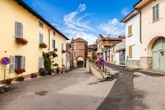 Camagna Monferrato, Italy Stock Photography
