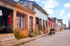 Camaguey, Cuba - old town listed on UNESCO World. Camaguey, Cuba, old town listed on UNESCO World Heritage stock photo
