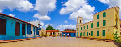 Camaguey, Cuba - old town listed on UNESCO World. Camaguey, Cuba, old town listed on UNESCO World Heritage stock images