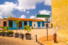 Camaguey, Cuba - old town listed on UNESCO World Royalty Free Stock Photos