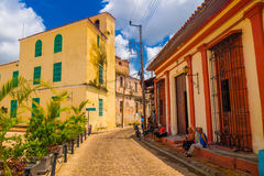 Camaguey, Cuba - old town listed on UNESCO World Stock Photo