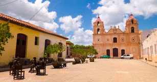 CAMAGUEY, CUBA - SEPTEMBER 4, 2015: Statues Stock Photo