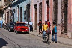 Camaguey Kuba Arkivbild