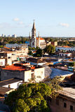 Camaguey UNESCO World Heritage Centre from above. Royalty Free Stock Photos