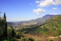 camaiore dolina Zdjęcie Royalty Free