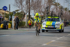Camaiore, Italy - March 12, 2015: Professional cyclist Stock Photography