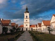 Camaldolese kloster i Wigry Royaltyfri Fotografi