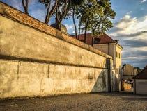 Camaldolese kloster i Wigry Royaltyfria Foton
