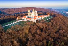 Camaldolese kloster och kyrka i Bielany, Cracow, Polen Royaltyfri Foto