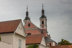 Camaldolese monastery in Wigry, Poland. Royalty Free Stock Photography