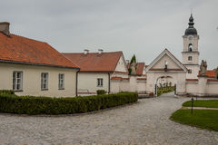 Camaldolese monastery in Wigry, Poland. Royalty Free Stock Images