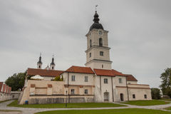 Camaldolese monastery in Wigry, Poland. Stock Images