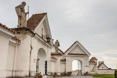 Camaldolese monastery in Wigry, Poland. Royalty Free Stock Image
