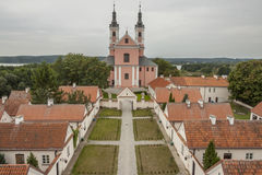 Camaldolese monastery in Wigry, Poland. Stock Photo
