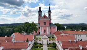 Camaldolese monastery in Wigry Royalty Free Stock Photos