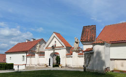 Camaldolese monastery in Wigry Stock Photos