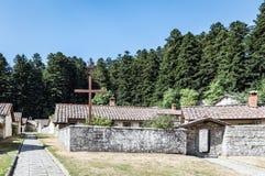 Camaldoli kloster Arkivfoto