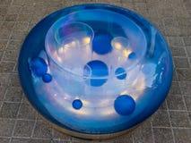 Camana błękitny Seat zdjęcie stock
