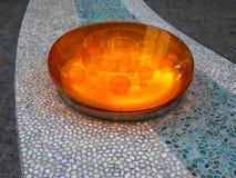 Camana Seat Baia-arancio fotografia stock libera da diritti