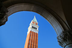 Camanile στη Βενετία Στοκ φωτογραφία με δικαίωμα ελεύθερης χρήσης