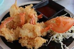 Camarão da fritada Imagem de Stock