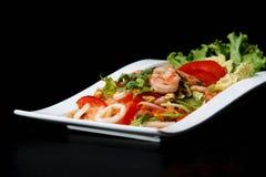 Camarão de Yum Woon Sen fotografia de stock