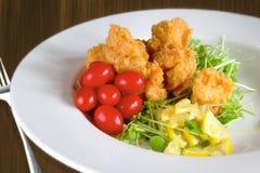 Camarão fritado Imagem de Stock Royalty Free