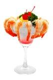 Camarão no gelo Imagem de Stock