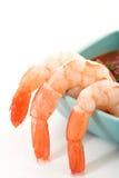 Camarão Pealed Imagens de Stock