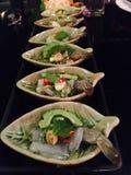 Camarón en salsa de pescados Imágenes de archivo libres de regalías