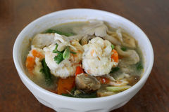 Camarón picante para cocinar Tailandia Foto de archivo libre de regalías