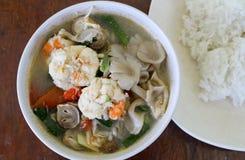Camarón picante para cocinar Tailandia Imagen de archivo libre de regalías