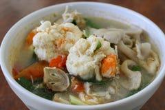 Camarón picante para cocinar Tailandia Fotos de archivo