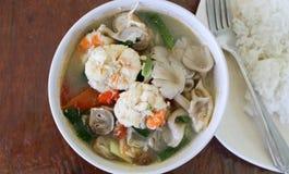 Camarón picante para cocinar Tailandia Imagenes de archivo