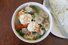 Camarón picante para cocinar Tailandia Fotografía de archivo libre de regalías