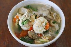 Camarón picante para cocinar Tailandia Imágenes de archivo libres de regalías