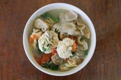Camarón picante para cocinar Tailandia Foto de archivo