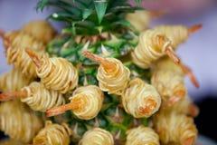 Camarões cozinhados Fotografia de Stock Royalty Free