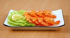 Camarões cozinhados Imagem de Stock