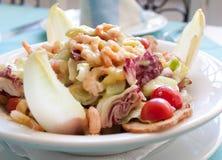 Camarões frescos da salada Foto de Stock Royalty Free
