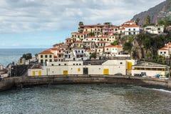Camara de罗伯斯,马德拉岛,葡萄牙 库存图片