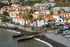 Camara de罗伯斯,马德拉岛,葡萄牙 免版税库存照片