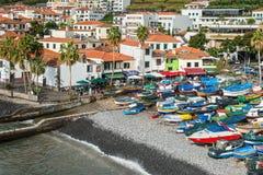 Camara de罗伯斯,马德拉岛,葡萄牙 免版税库存图片