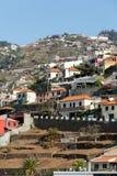 Camara de Lobos - aldeia piscatória tradicional, situada cinco quilômetros de Funchal em Madeira Imagem de Stock