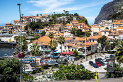 Camara de Lobos is a fishing village near the city of Funchal and has some of the highest cliffs in the world. The location of the modern town is believed to be Stock Photos