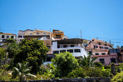 Camara de Lobos is a fishing village near the city of Funchal and has some of the highest cliffs in the world. The location of the modern town is believed to be royalty free stock photography